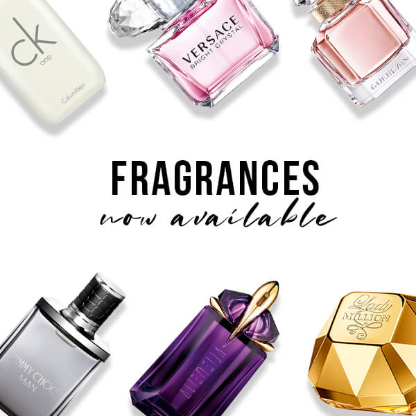 Fragrances now available website icon