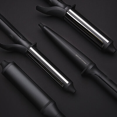 ghd Crimpers, Curlers, Tongs & Wands