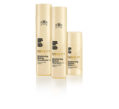 label.m Brightening Blonde range