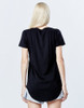back black tall tee