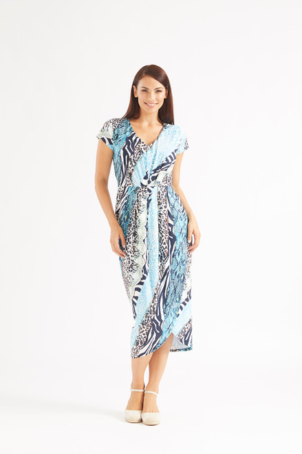 Philosophy Bagshaw wrap midi dress Lamisaru Boutique