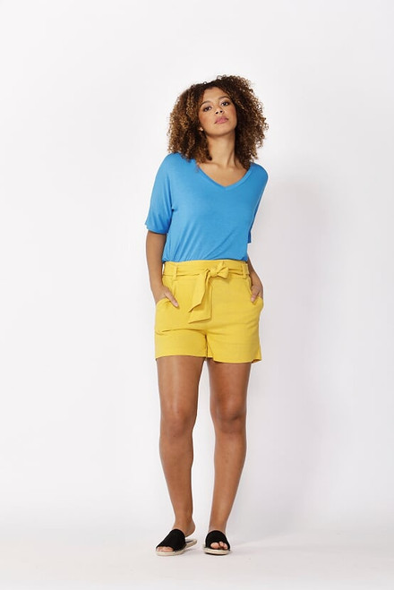 Betty _Basics_ Tyler_ Shorts_mustard