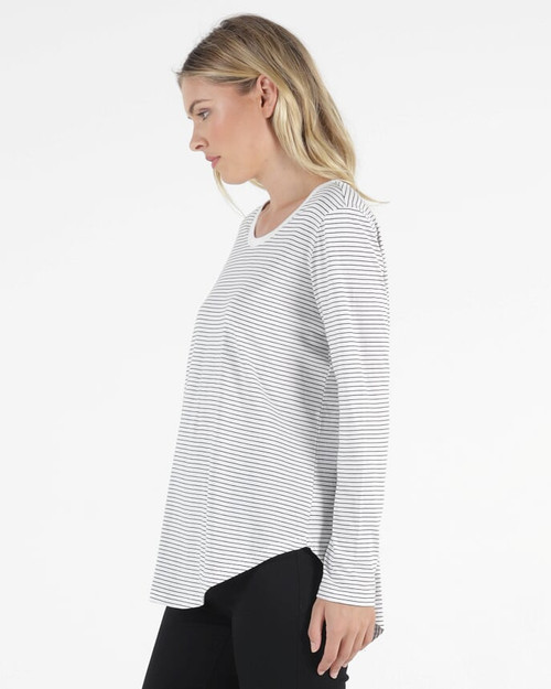 Betty Basics T Shirt Meagan Stripe_lamisaru_boutique