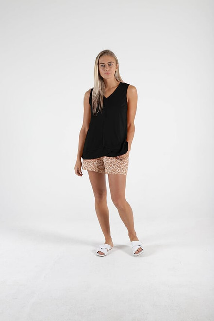 betty Basics Hallie Tank Black _lamisaru_boutique