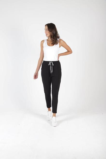 Betty _Basics_ Jade_ Pant_ Black_ Cotton_ Mix_lamisaru_boutique