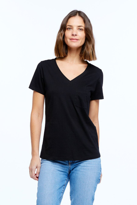 Casa _Amuk _V _Neck_ T_ Black_lamisaru_boutique