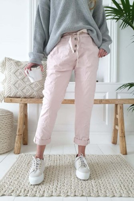 Bypias Perfect Jogger Jeans Rose