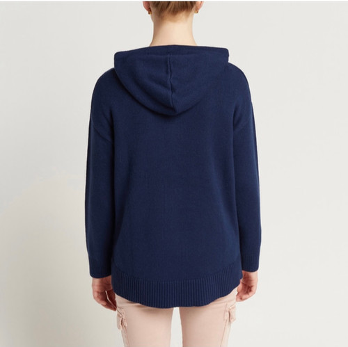 Milson_ knit_ Brooke _Hoodie _French _Navy