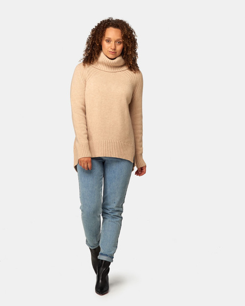 Maxted_ Merino _Soft_ Touch _Roll_ Neck_ Pale_ Oat_lamisaru_boutique
