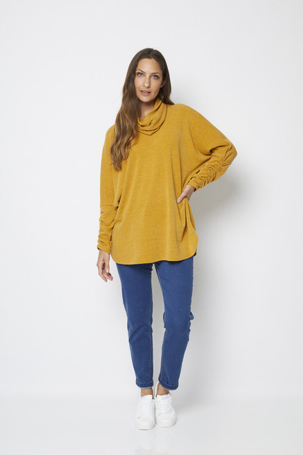 Philosophy Capa Knit Snood Tunic