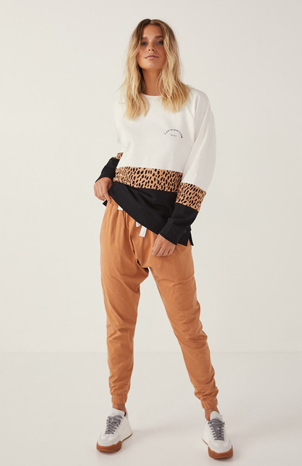 Cartel and Willow Comeback pants - Toffee