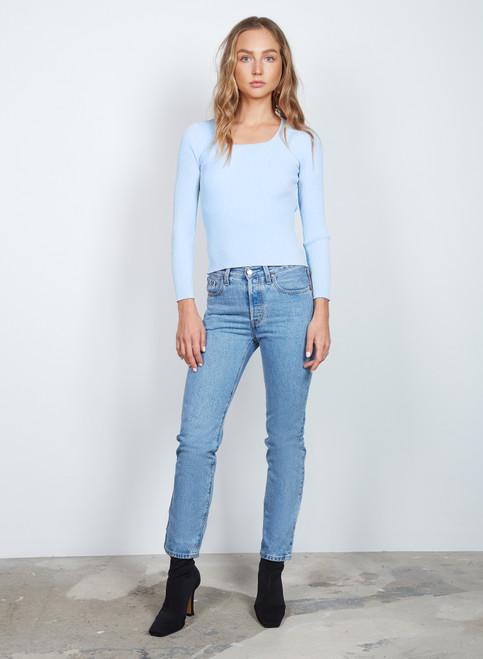 Wish Alicia Sweater Light Blue