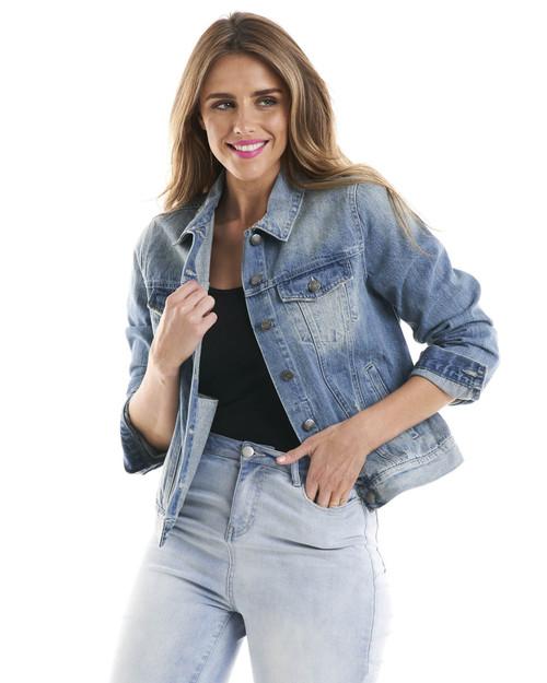 Betty Basics Hudson Denim Jacket