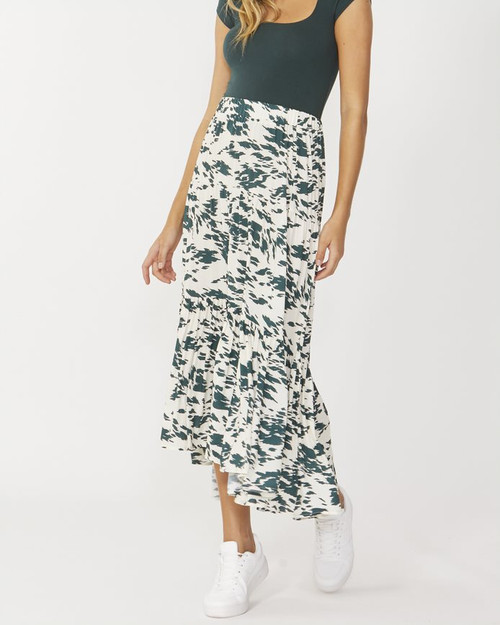 Sass_Macy_Skirt_Emerald_Abstract_lamisaru_boutique