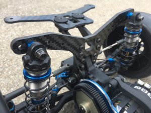 Rear extended shock tower for Team Associated B6, B6.1, B6.2, and SC6.1, SC6.2