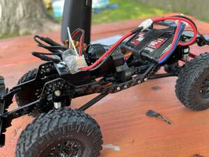 TFT Carbon Fiber FLIP LCG Chassis for Axial SCX24