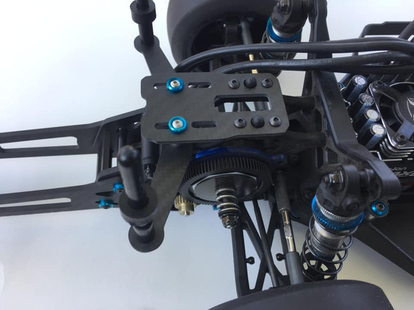 Carbon Fiber Body Mount System (Rear) for DR10
