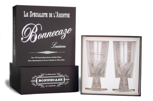 Torsade Absinthe Glasses with Gift Box