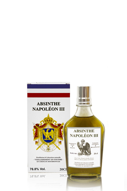 Absinthe Bourbonnaise, Napoleon, 76%, 20cl