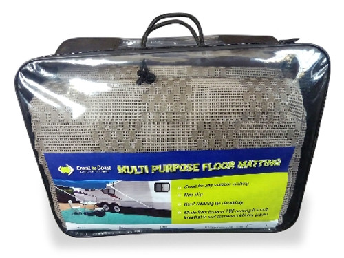 Coast Multi Purpose Floor Matting Grey (250 x 500cm)