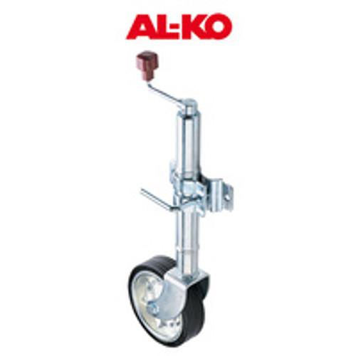 """Alko 10"""" Solid Tyre Jockey Wheel"""