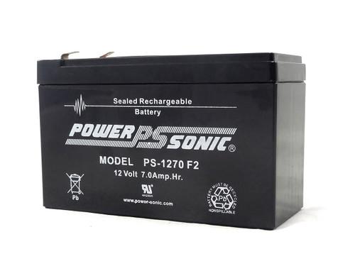 Power Sonic PS-1270F2 Break Away Battery