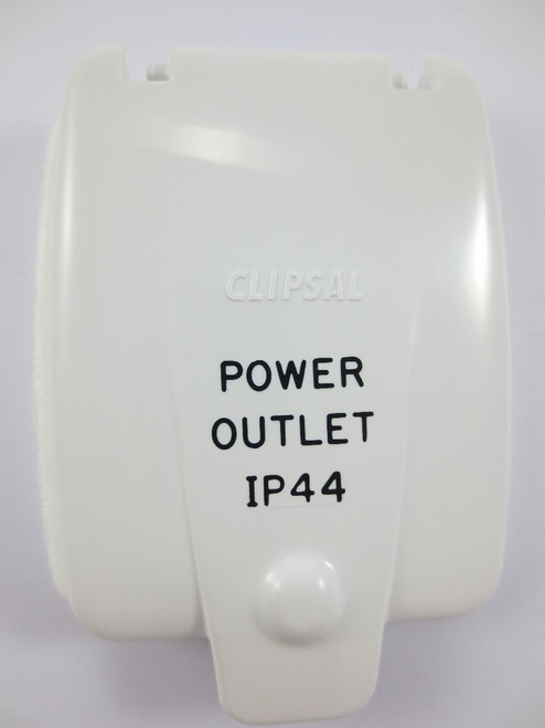 Flap To Suit Clipsal Old Style Outlet