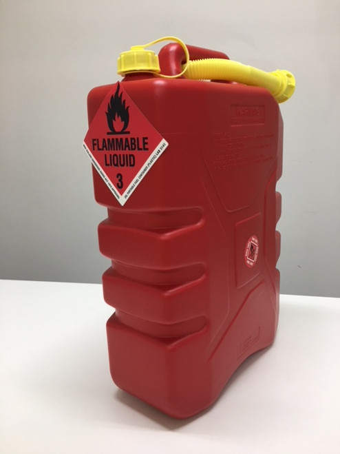 Red Fuel Container