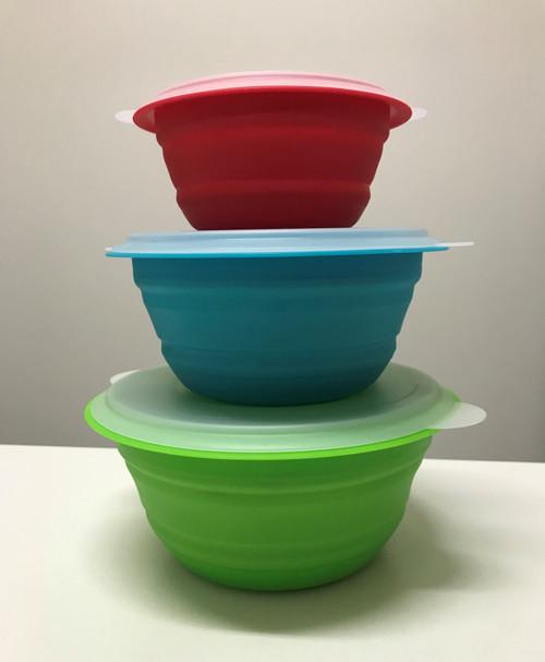 Collapsible Storage Bowl Set
