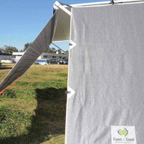 Side Sunscreen To Suit Caravans