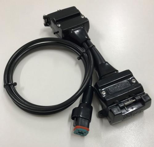 Elecbrakes Adapter Flat 12-12pin Socket