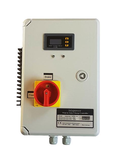 Hybrid Charge Controller 24V or 48V 1000 for Wind Turbine Generator