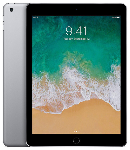 Apple iPad 5th Generation (128GB, Wi-Fi, Space Gray)