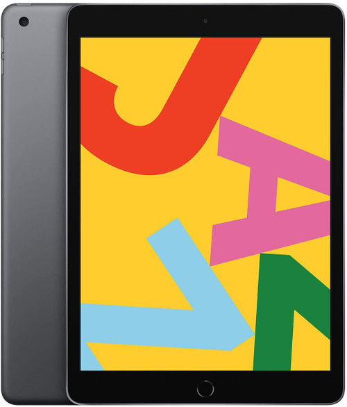 Apple iPad 7th Generation (128 GB, Wi-Fi, Black/Space Gray), New Open Box