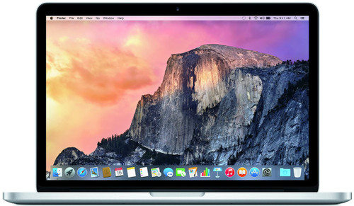 Apple MacBook Pro Retina 13.3-Inch Laptop (2.7GHz Core i5, 8GB RAM, 256GB SSD, Force-touch), Early 2015