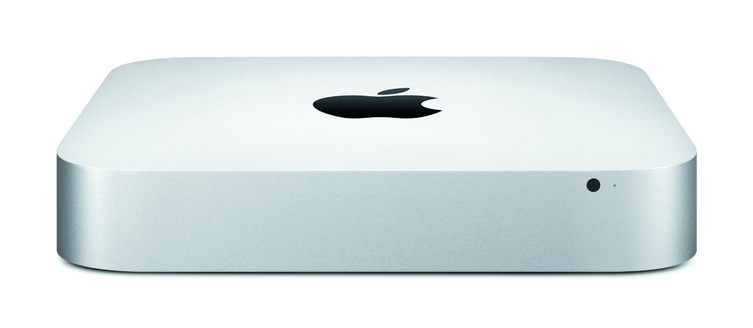 Mac mini front view