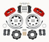 2012-on FIAT 500 Wilwood Front Big Brake Kit - Red Calipers - Auto Ricambi