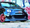 Front Spoiler/Splitter Fits 2012-on FIAT 500 - Abarth and Turbo Models - Auto Ricambi