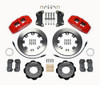 FIAT 500 Wilwood Front Big Brake Kit - Red Calipers