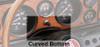 FIAT 124 Spider Dash Wood Set - Curved Bottom - Black Walnut - Auto Ricambi