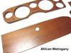 Dash Wood Set - African Mahogany  - FIAT 124 Spider, Spider 2000 - 1966-1982 - Auto Ricambi