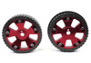 High performance adjustable aluminum cam gear (pulley) pair FIAT 124 Spider and Sport Coupe, Spider 2000 and Pininfarina - 1966-1985 - Auto Ricambi