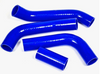 Blue Red or Black Silicone Hose Set - 1975-85