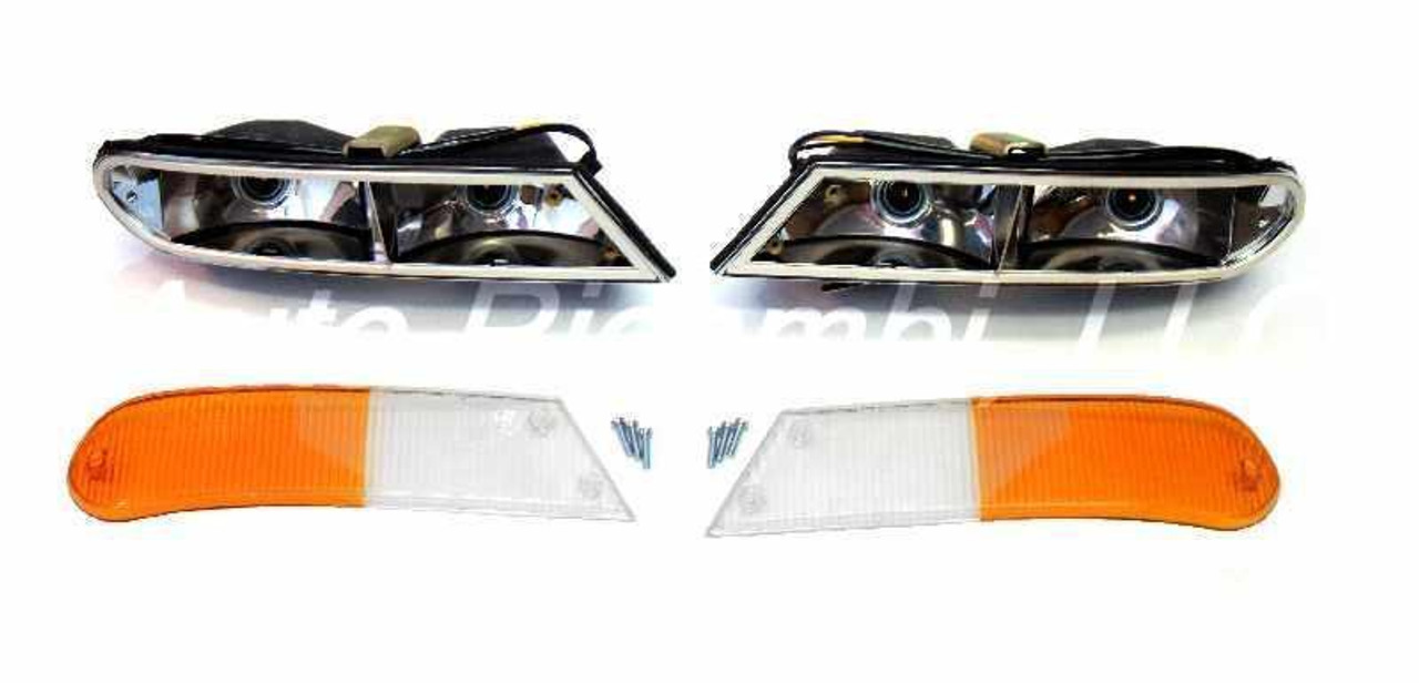 Front Turn Signal Assembly Set - 1966-74