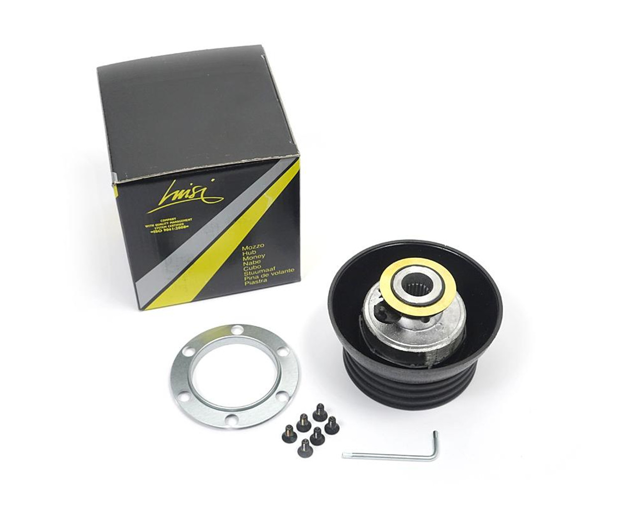Steering wheel hub adaptor FIAT 124 Spider and Sport Coupe, Spider 2000 and Pininfarina - May 1972-1985 - Auto Ricambi