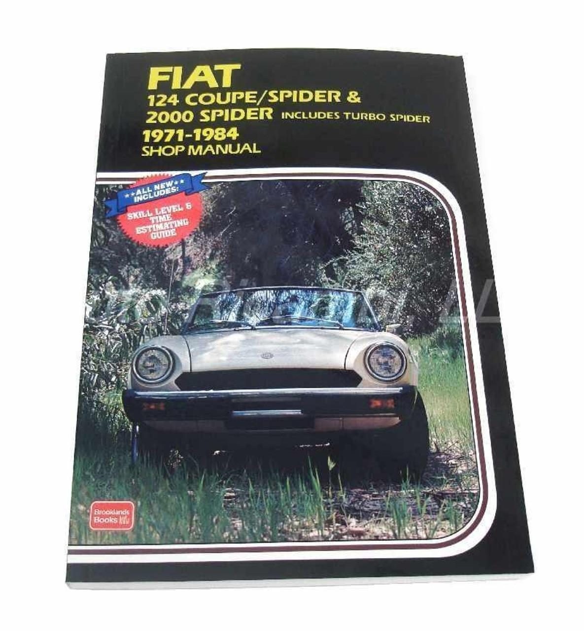 Brooklands Shop Manual - 1971-84