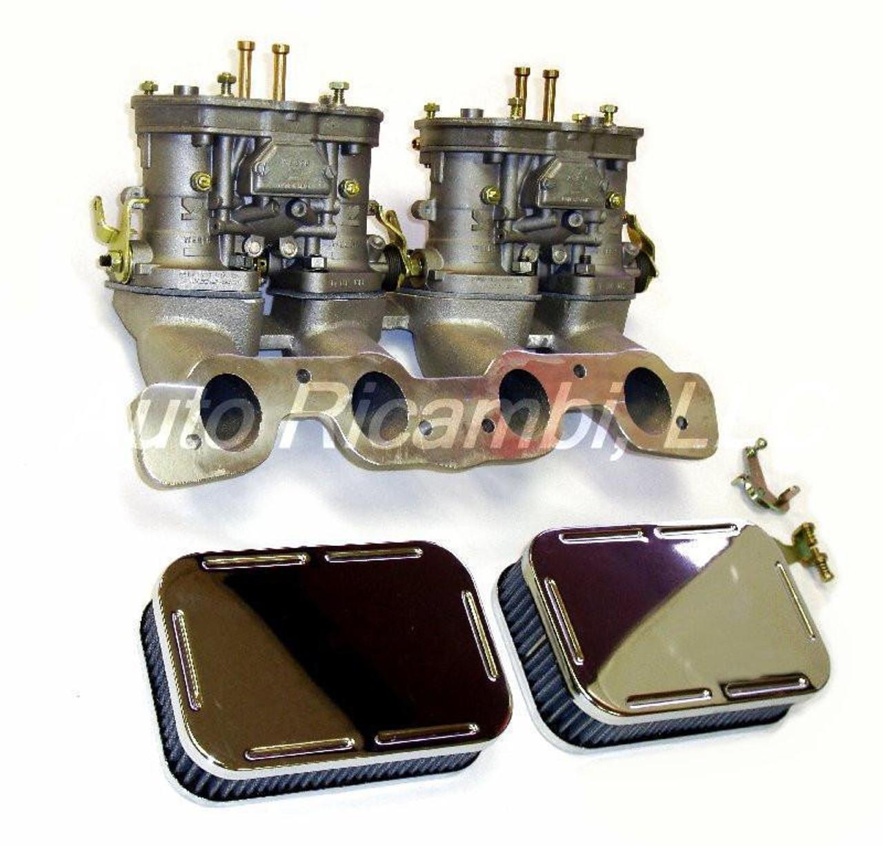 Dual Weber IDF Carburetor Conversion Kit