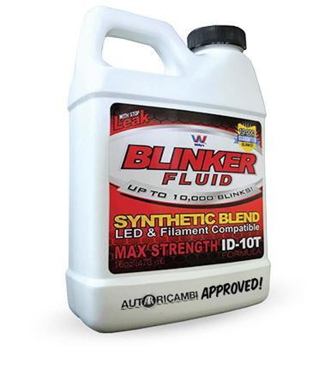 Blinker Fluid - Official FIAT Spider Approved
