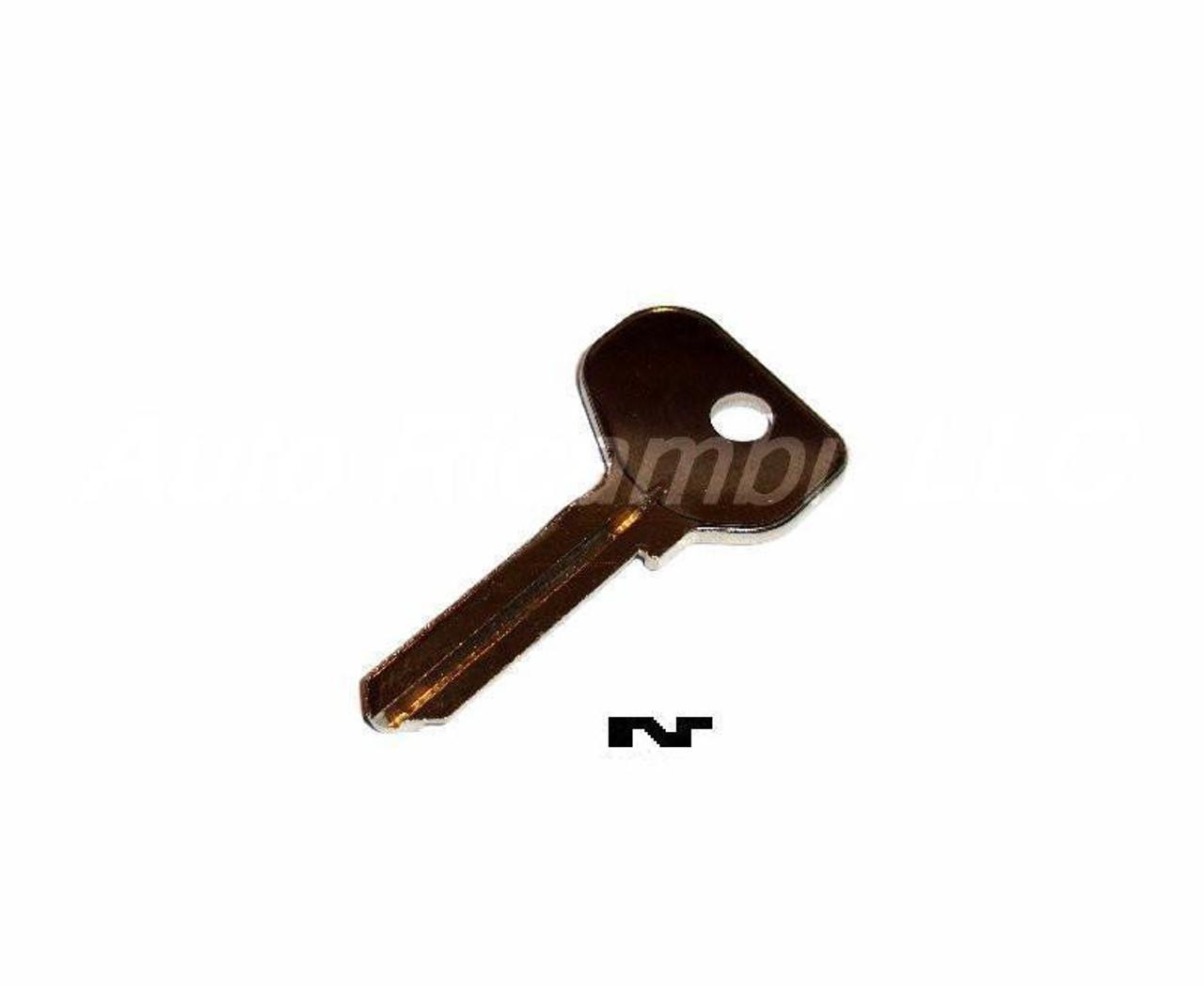 Single Sided Key Blank Series #1