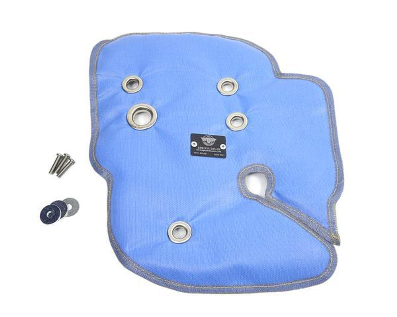 Blue Turbo Blanket for FIAT 124 Spider